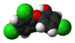 triclosan-molecule